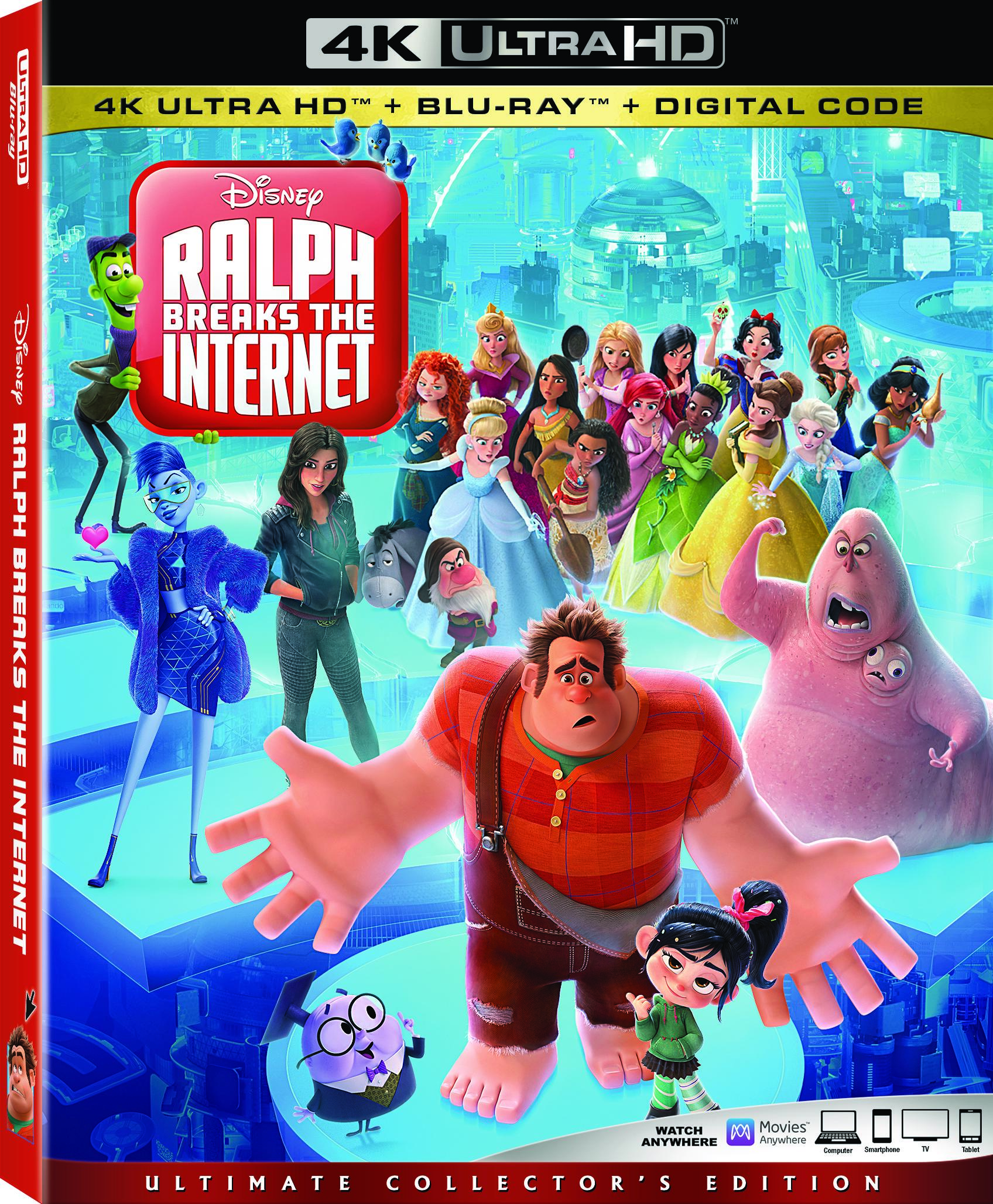 Giveaway Ralph Breaks The Internet Blu Ray Combo Pack Nothing But