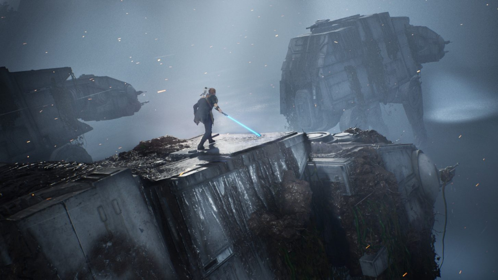 E3 2019: Star Wars Jedi - Fallen Order GAMEPLAY TRAILER